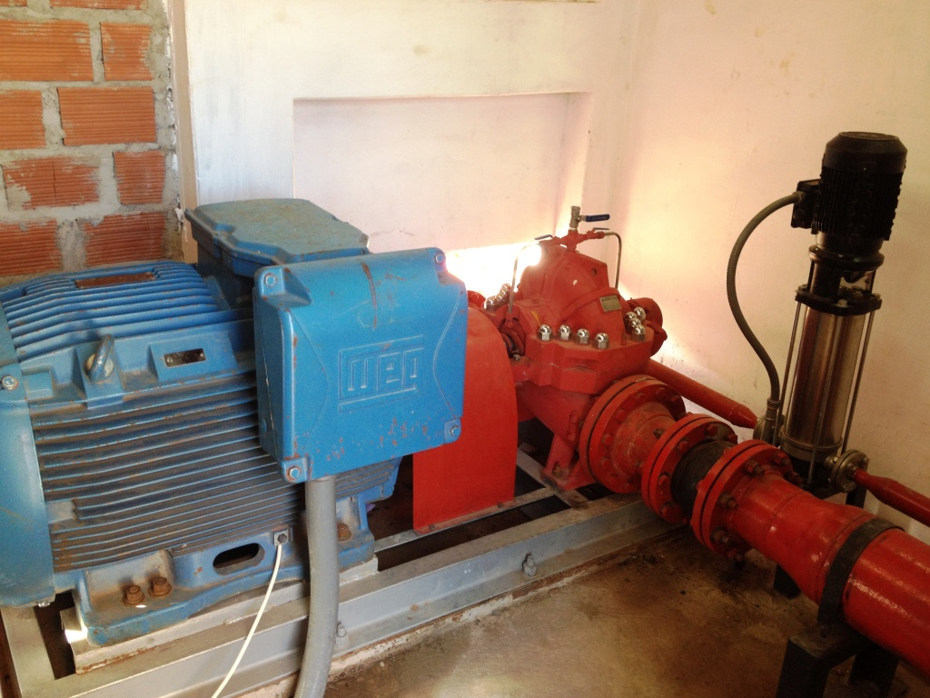 Fire Fighting Pump Projects in Santa Cruz Bolivia