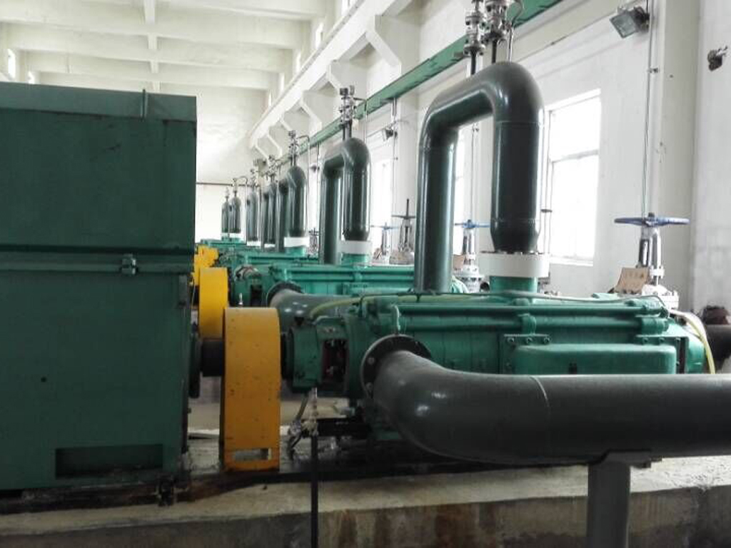 Multistage centrifugal pump project in Ningxia, China